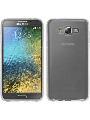 Coque silicone transparente pour Samsung Galaxy E7