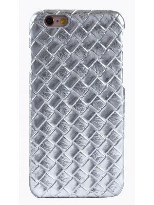Coque tressage argenté pour Apple iPhone 6
