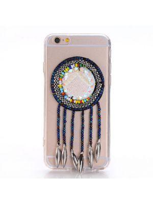 Coque Dream Catcher perles bleus et blanches pour Apple iPhone 6 Plus