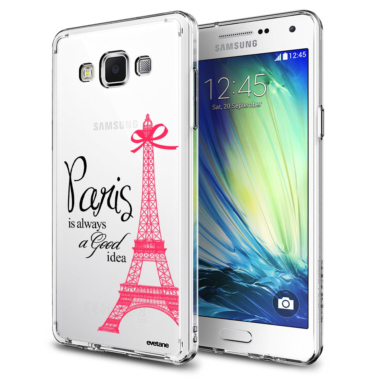 Coque Samsung Galaxy Grand Prime rigide transparente Paris is ...