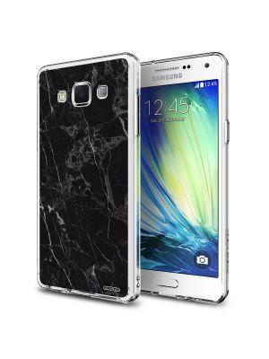 Coque rigide effet marbre noir pour Samsung Galaxy Grand Prime