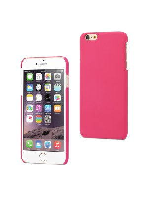 Muvit Coque Dure Finition Rubber Rose Apple Iphone 6+/6s+