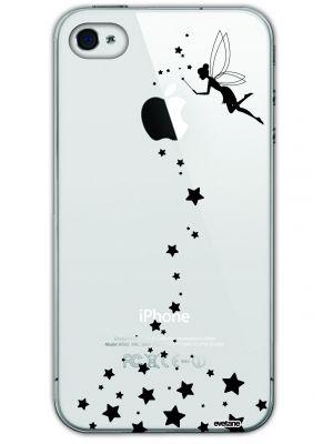 Coque rigide transparente Fée pour iPhone 4/4S