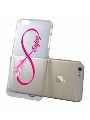 Coque rigide transparente Enjoy pour iPhone 6/6S