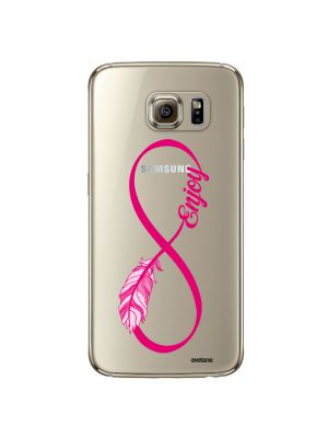 Coque rigide transparente Enjoy pour Samsung Galaxy S6