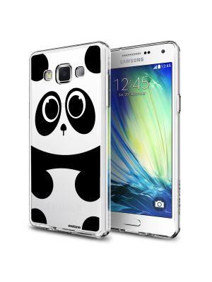 Coque rigide transparente panda pour Samsung Galaxy Grand Prime