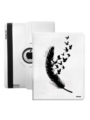 Etui de protection rotatif Plume pour iPad 2/3/4