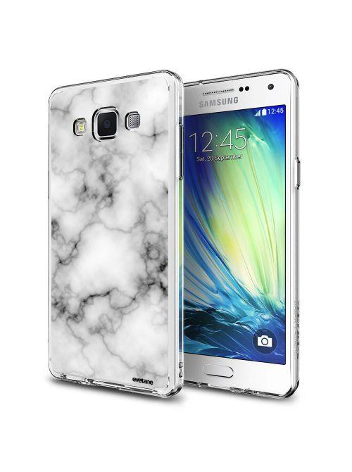Coque Samsung Galaxy Grand Plus rigide transparente Marbre blanc Dessin Evetane - Coquediscount