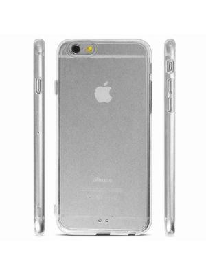Coque transparente rigide avec contour gel pour Apple iPhone 6/6S