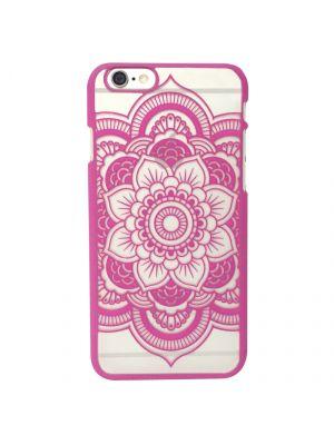 Coque transparente Rosace Rose pour iPhone 6/6S