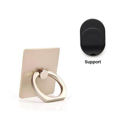 Support anneau or de rotation 360° pour Smartphones