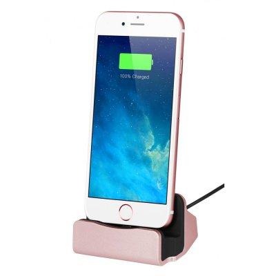 Dock de chargement et de synchronisation Lightning Rose Gold pour iPhone 5/5C/5S/6/6S/6+/6S+