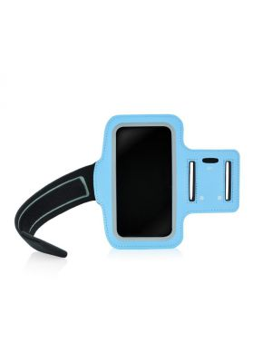 Brassard sport bleu pour iPhone 5/5S + Rangement clef