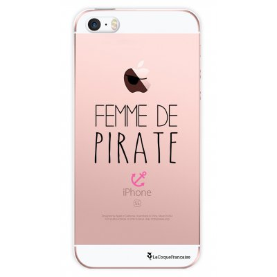 Coque transparente Femme de Pirate pour iPhone 5/ 5S