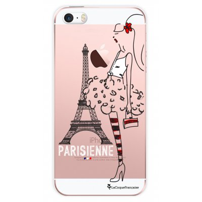 Coque transparente Parisienne pour Apple iPhone 5/5S