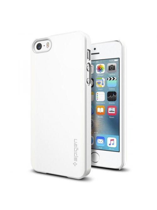 spigen coque spigen thin fit iphone 5 5s se blanc for iphone 5 5s se shimmery white