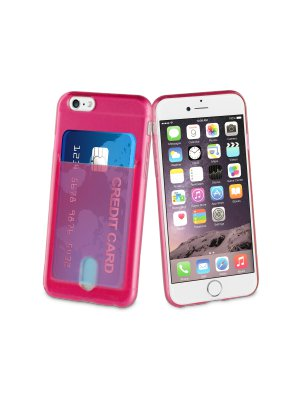 Muvit Life Coque Passpass Rose Fluo Pour Apple Iphone 6/6s