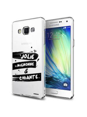 Coque transparente Jolie, Mignonne & Chiante pour Samsung Galaxy Grand Prime