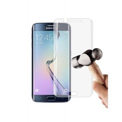 Vitre de protection intégrale en verre trempé transparente pour Samsung Galaxy S7 Edge