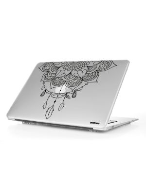 Coque transparente Mandala pour MacBook Air 13""