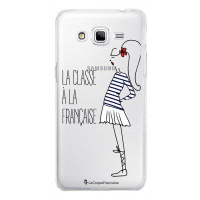 Coque transparente La classe à la Française pour Samsung Galaxy Grand Prime