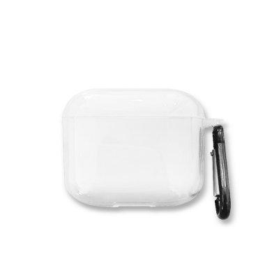Etui pour Airpods Pro transparent (vendu sans écouteur)