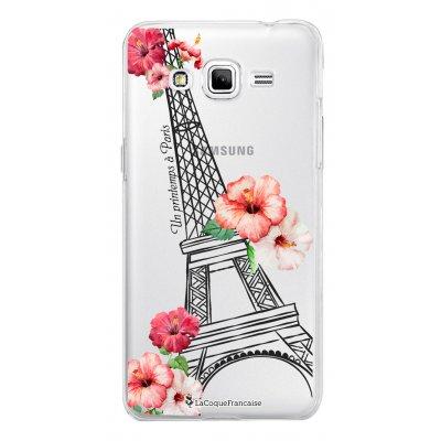 Coque transparente Un printemps à Paris pour Samsung Galaxy Grand Prime