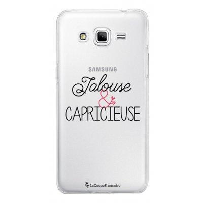Coque transparente Jalouse et Capricieuse pour Samsung Galaxy Grand Prime