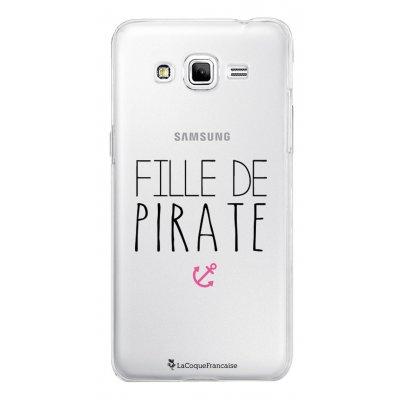 Coque transparente Fille de Pirate pour Samsung Galaxy Grand Prime