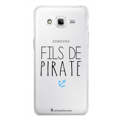 Coque transparente Fils de Pirate pour Samsung Galaxy Grand Prime