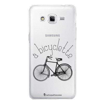 Coque transparente à Bicyclette pour Samsung Galaxy Grand Prime
