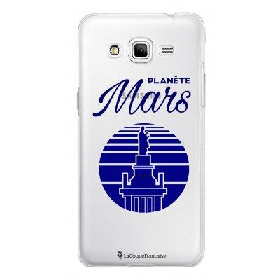 Coque transparente Planète Mars pour Samsung Galaxy Grand Prime