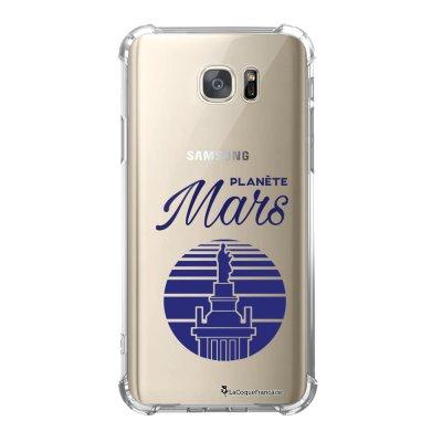 Coque Samsung Galaxy S7 anti-choc souple avec angles renforcés Planète Mars Tendance La Coque Francaise