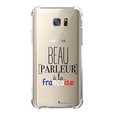Coque Samsung Galaxy S7 anti-choc souple avec angles renforcés Beau parleur Tendance La Coque Francaise