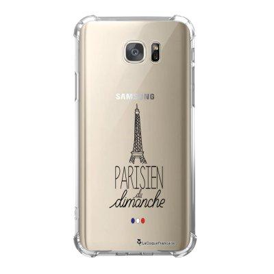 Coque Samsung Galaxy S7 anti-choc souple avec angles renforcés Parisien du dimanche Tendance La Coque Francaise
