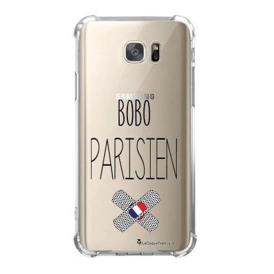 Coque Samsung Galaxy S7 anti-choc souple avec angles renforcés Bobo parisien Tendance La Coque Francaise