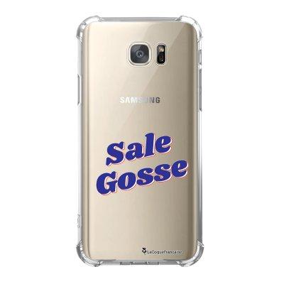 Coque Samsung Galaxy S7 anti-choc souple avec angles renforcés Sale Gosse bleu Tendance La Coque Francaise