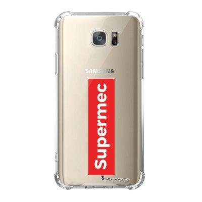 Coque Samsung Galaxy S7 anti-choc souple avec angles renforcés SuperMec Tendance La Coque Francaise