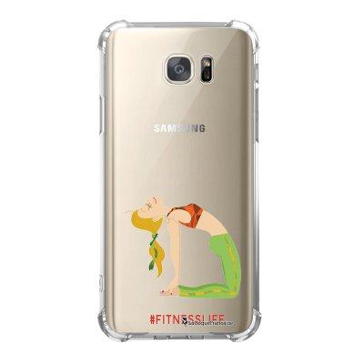 Coque Samsung Galaxy S7 anti-choc souple avec angles renforcés Fitness Life Tendance La Coque Francaise