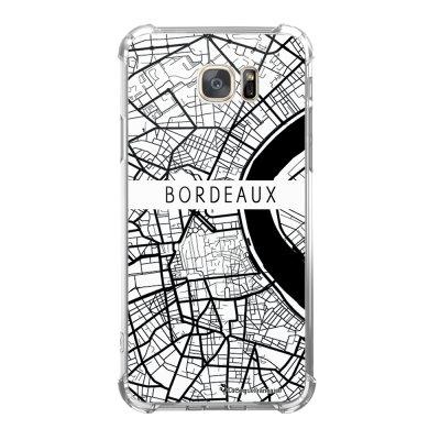 Coque Samsung Galaxy S7 anti-choc souple avec angles renforcés Carte de Bordeaux Tendance La Coque Francaise