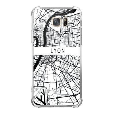Coque Samsung Galaxy S7 anti-choc souple avec angles renforcés Carte de Lyon Tendance La Coque Francaise