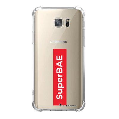 Coque Samsung Galaxy S7 anti-choc souple avec angles renforcés SuperBAE Tendance La Coque Francaise