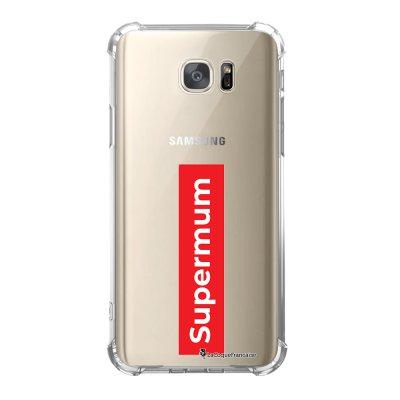 Coque Samsung Galaxy S7 anti-choc souple avec angles renforcés SuperMum Tendance La Coque Francaise