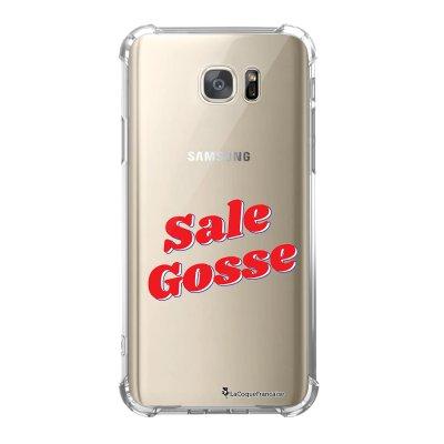 Coque Samsung Galaxy S7 anti-choc souple avec angles renforcés Sale Gosse Rouge Tendance La Coque Francaise