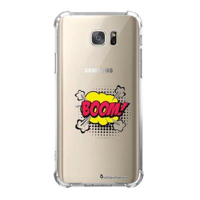 Coque Samsung Galaxy S7 anti-choc souple avec angles renforcés BOOM Tendance La Coque Francaise