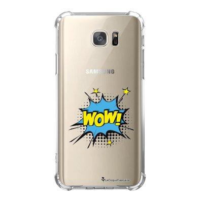Coque Samsung Galaxy S7 anti-choc souple avec angles renforcés WOW Tendance La Coque Francaise
