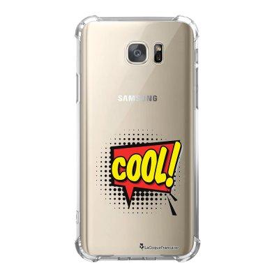 Coque Samsung Galaxy S7 anti-choc souple avec angles renforcés COOL Tendance La Coque Francaise