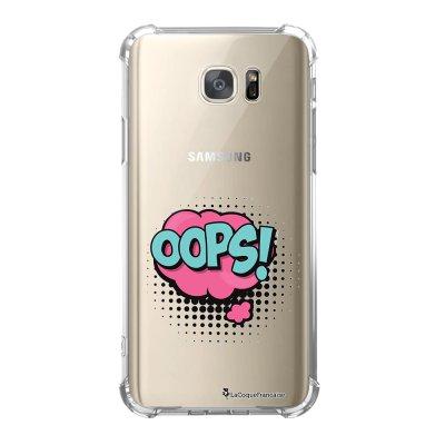 Coque Samsung Galaxy S7 anti-choc souple avec angles renforcés OOPS Tendance La Coque Francaise