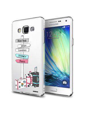 Coque rigide transparent Destinations Vacances pour Samsung Galaxy Grand Prime