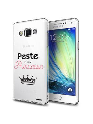 Coque rigide transparent Peste Mais Princesse pour Samsung Galaxy Grand Prime